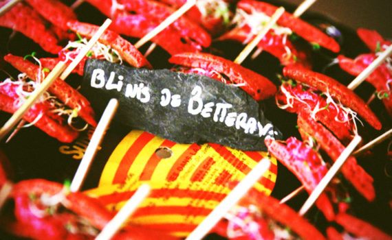 blinis de betterave